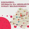 Informacja z dnia 20 maja, na temat zachorowań na koronawirusa