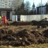 Prace nad budową skweru przy ul. Piastowskiej idą pełna parą