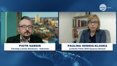 Tydzień w Tydzień - gościem jest Posłanka Polski 2050, Paulina Hennig-Kloska.