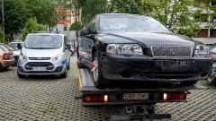 Usuwanie wraków zalegających na parkingach