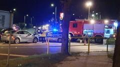 Wypadek na skrzyżowaniu ulic Lipowej i Wyszyńskiego (Bełchatów)