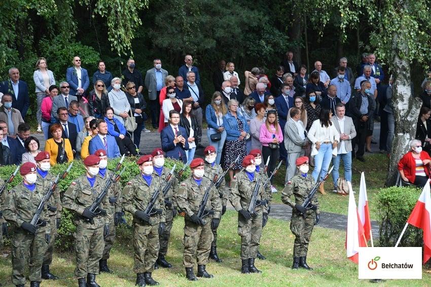 Borowa Góra symbol odwagi i dumy! Bełchatowskie obchody 81. rocznicy wybuchu II wojny światowej ( Bełchatów)