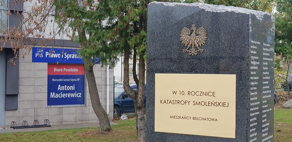 Antoni Macierewicz ma biuro, ale się nie chwali ( Bełchatów)
