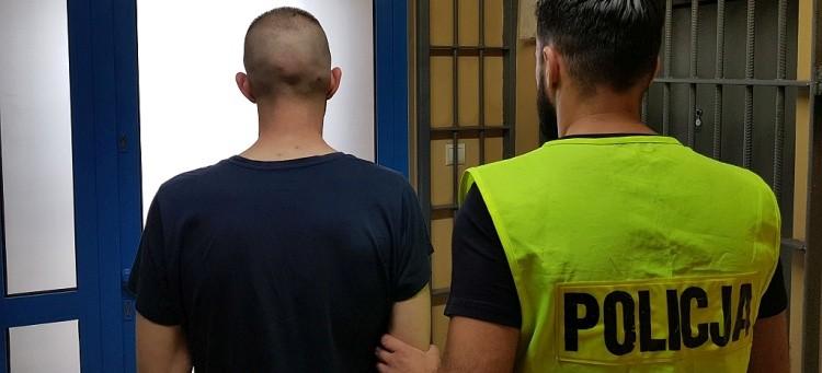 Bełchatowianin zamiast wrócić do aresztu ukrywał się w jednym z mieszkań