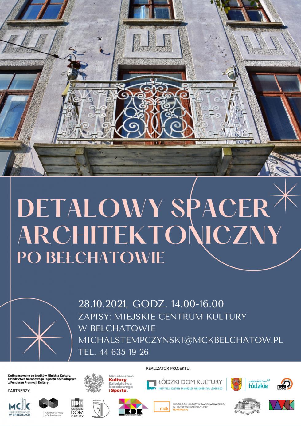 Detalowy spacer architektoniczny po Bełchatowie