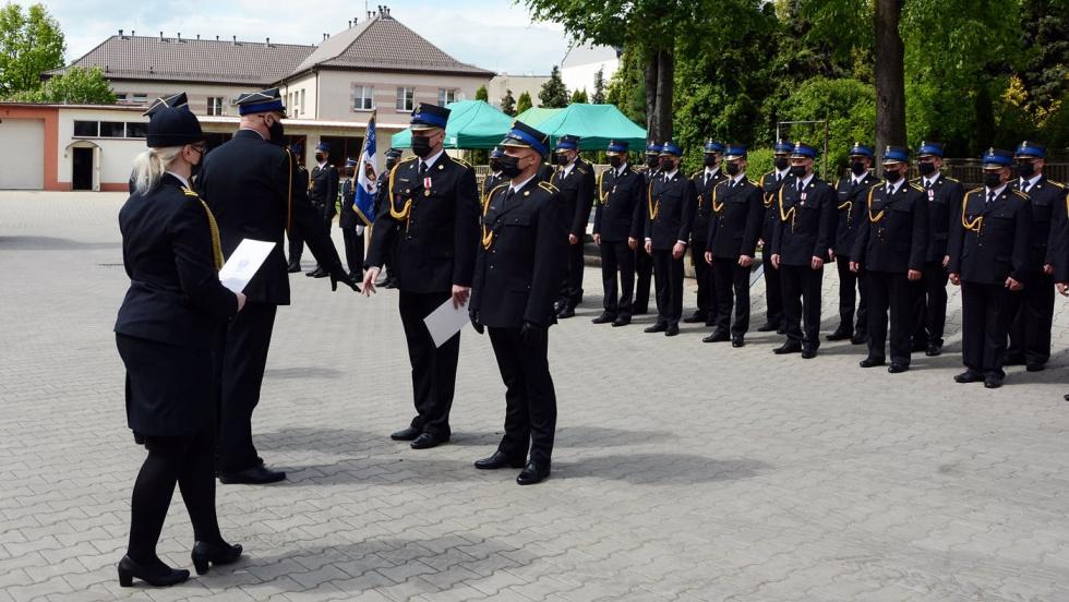 Dzień Strażaka w Radomsku. Były odznaczenia i awanse.