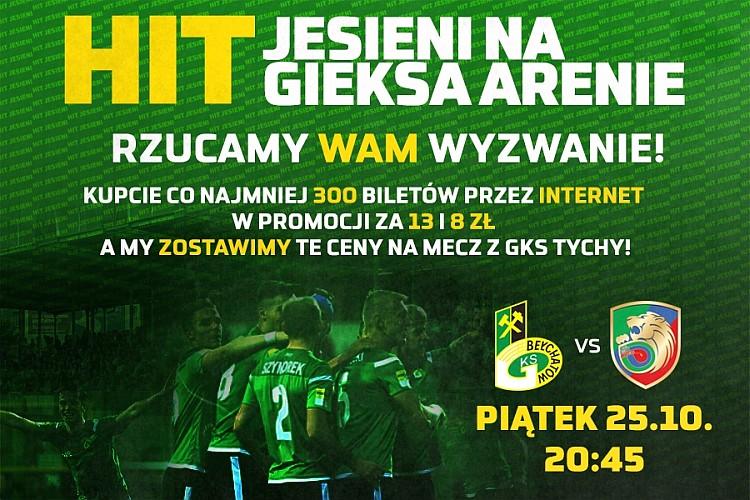 Kup taniej bilet na mecz z Miedzią Legnica!