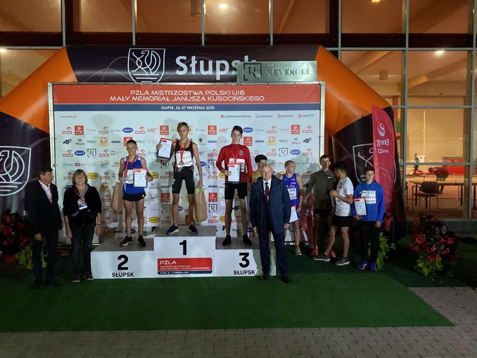 Mistrzostwa Polski U16 w Lekkiej Atletyce w Słupsku. Dobre występy młodzików z Czempiona Bełchatów