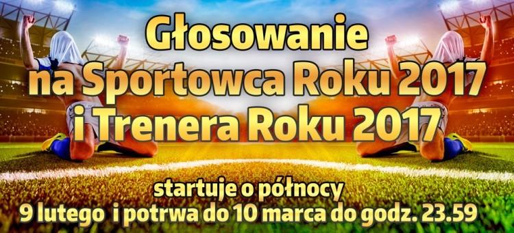 Trwa głosowanie w VIII Plebiscyt na Najlepszego Sportowca i Trenera Roku 2017 Regionu Bełchatowskiego