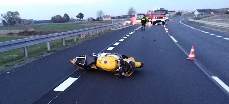 Prokuratura wyjaśnia przyczyny tragicznego wypadku z udziałem motocyklisty