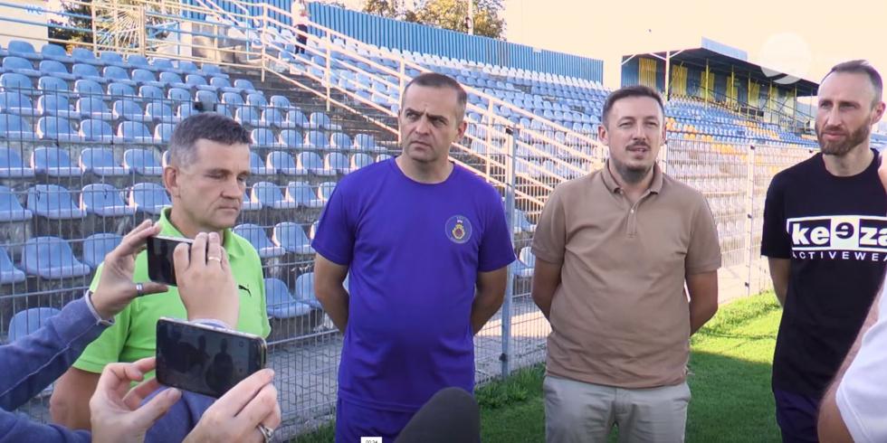RKS Radomsko z nowym sztabem trenerskim - (Radomsko)