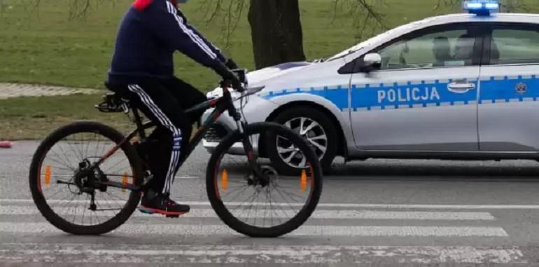 Ukradł rower, monitoring pomógł ( powiat bełchatowski)