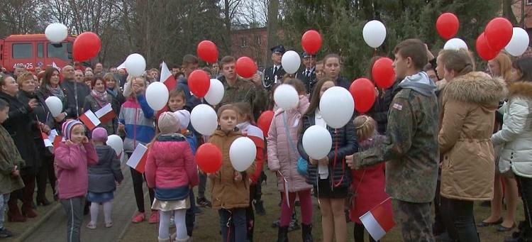 Uroczystości setnej rocznicy odzyskania niepodległości w Łękawie