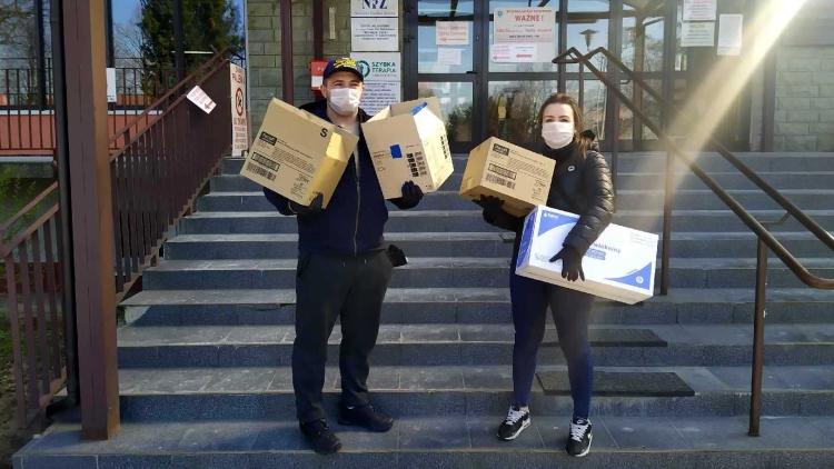 Zbiórka kibiców GKS Bełchatów przyniosła pierwsze korzyści dla szpitala