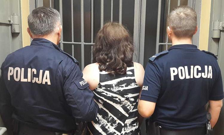 Złodziejki w rękach policji
