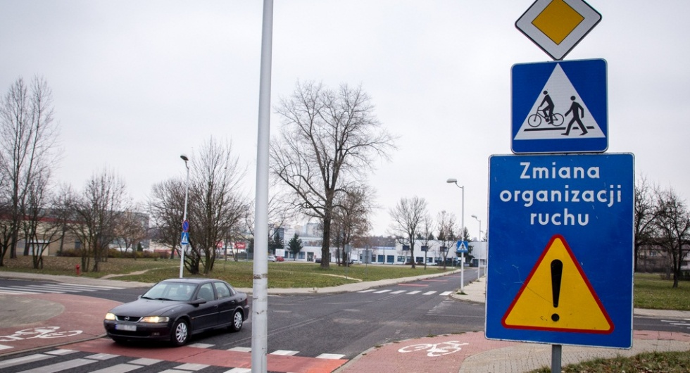 Zmiana organizacji ruchu na os. Dolnośląskim i Binkowie